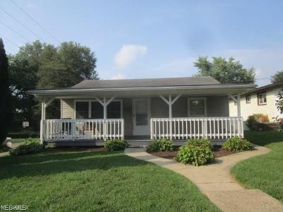 Muskingum County Single Family Home Contingent: 1211 Federal Ave