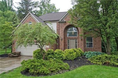 Sagamore Hills Single Family Home Active Under Contract: 8098 Augusta Lane