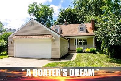 Lake County Single Family Home For Sale: 35720 W Island Drive