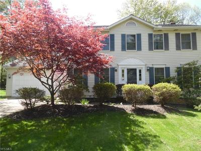 Solon Single Family Home Active Under Contract: 34538 Claythorne Road