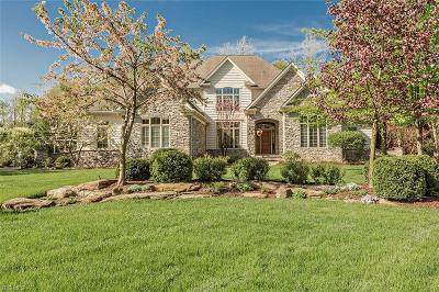 Chagrin Falls Single Family Home For Sale: 17400 Lookout Dr