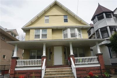 Cleveland Multi Family Home Active Under Contract: 1455 W 114th Street