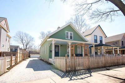 Cleveland Single Family Home Active Under Contract: 5903 W Clinton Avenue