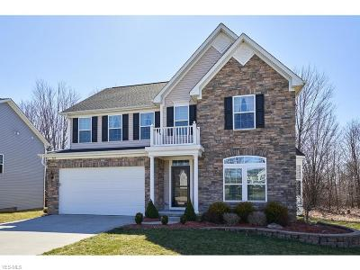 Macedonia Single Family Home Contingent: 739 Arbor Trails Dr