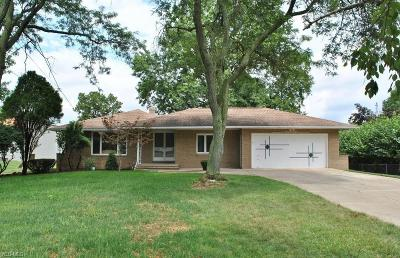 Seven Hills Single Family Home For Sale: 855 E Ridgewood Drive