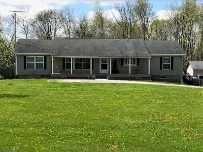 Ashland County Single Family Home For Sale: 1324 Township Road 13