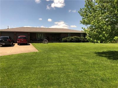 Guernsey County Single Family Home For Sale: 68185 Old Twenty One Road