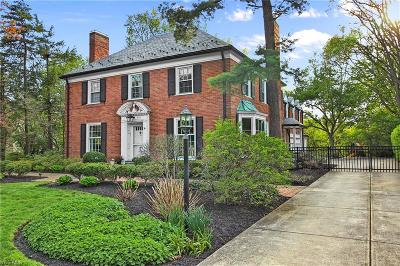 Shaker Heights Single Family Home For Sale: 2980 Fontenay Rd