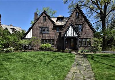 Shaker Heights Single Family Home For Sale: 19751 Malvern Rd