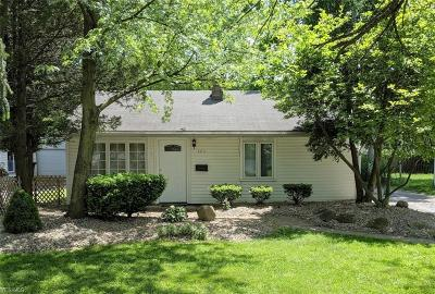 Boardman OH Single Family Home Active Under Contract: $49,900