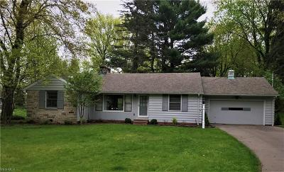 Brecksville Single Family Home Contingent: 10908 Brookview Rd