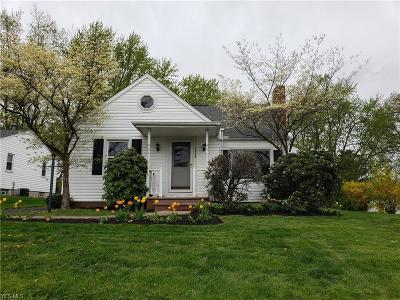Canton Single Family Home For Sale: 1515 Manor Ave Northwest