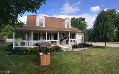 Thompson Single Family Home Active Under Contract: 6434 Ledge Road