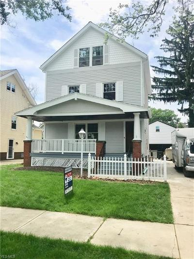 Lakewood Single Family Home For Sale: 1666 Lincoln Avenue