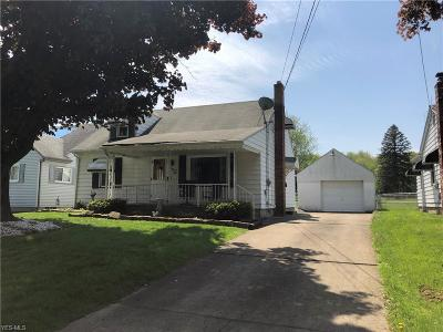 Struthers Single Family Home Active Under Contract: 128 Grimm Heights Avenue
