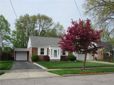 Painesville OH Single Family Home Contingent: $102,500