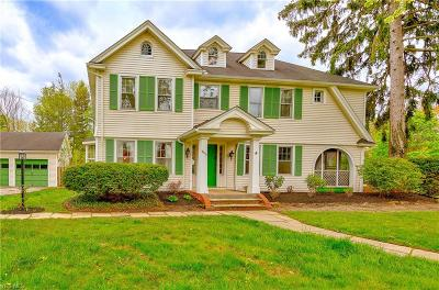 Shaker Heights Single Family Home For Sale: 18210 Fernway Rd