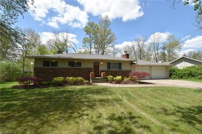 Macedonia Single Family Home Contingent: 9394 Ledge Acres Dr