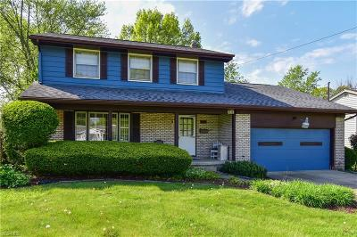 Youngstown Single Family Home For Sale: 1776 Lancaster Drive