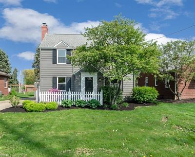 Canton Single Family Home Contingent: 3210 Martindale Rd Northeast
