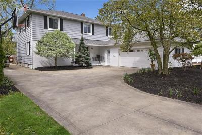 Shaker Heights Single Family Home Active Under Contract: 23649 Shelburne Road