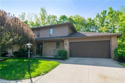 Strongsville Single Family Home Contingent: 18612 Buccaneer Creek Ln