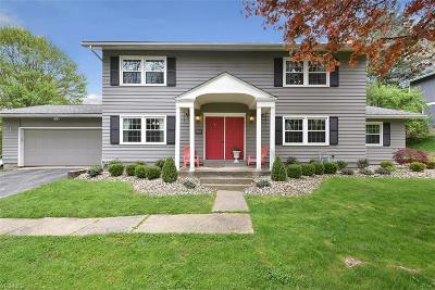 Chagrin Falls Single Family Home For Sale: 158 Greenbrier Dr