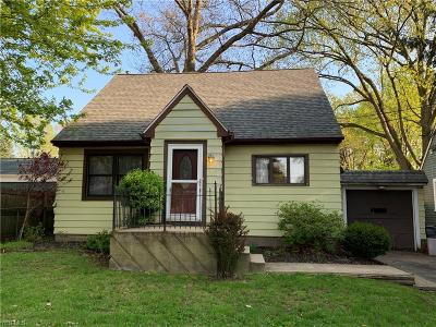Painesville OH Single Family Home Contingent: $105,000