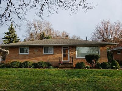 Parma Heights Single Family Home For Sale: 6698 Kingsdale Blvd