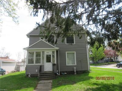 Ashtabula Multi Family Home Active Under Contract: 3826 State Road