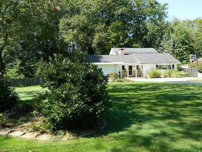 Chagrin Falls Single Family Home For Sale: 297 Hickory Hill Rd