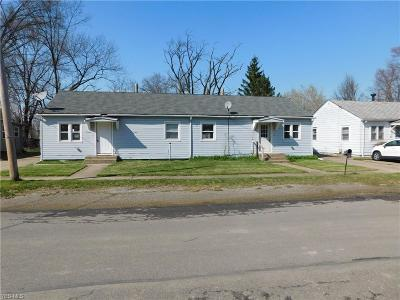 Lorain County Multi Family Home For Sale: 1771 East 37th St