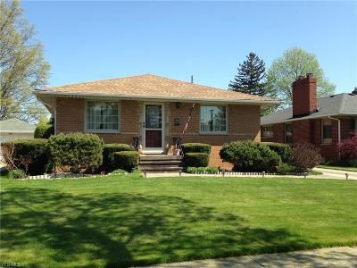 Cleveland OH Single Family Home Contingent: $155,000