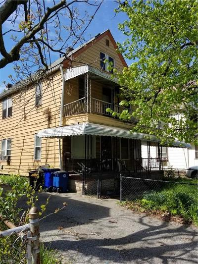 Cleveland Multi Family Home Active Under Contract: 10022 Quebec Avenue