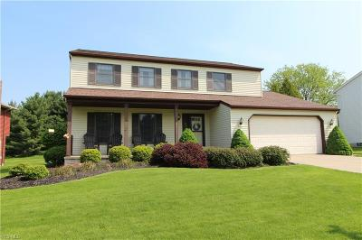 Strongsville Single Family Home Contingent: 14408 Pine Lakes Dr