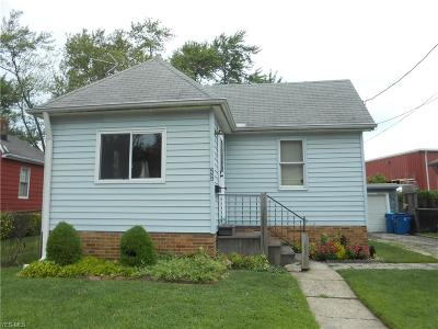 Painesville OH Single Family Home For Sale: $49,900