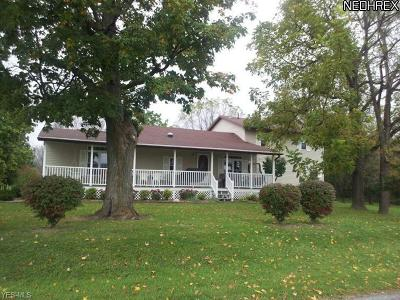 Ashland County Single Family Home For Sale: 40 Township Road 1031