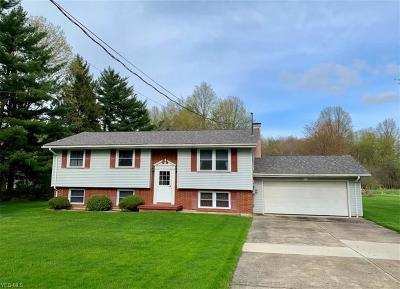 Girard Single Family Home For Sale: 1775 Pleasant Valley Road