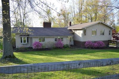 Willoughby Hills Single Family Home For Sale: 2370 River Road