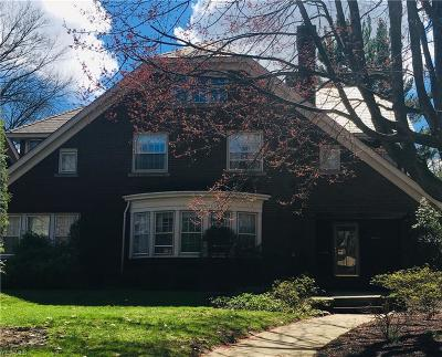 Cleveland Single Family Home Active Under Contract: 2716 Colchester Road