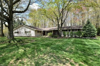Single Family Home For Sale: 8370 Chagrin Mills Rd
