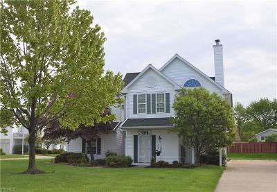 North Olmsted Single Family Home Active Under Contract: 72 Vista Circle