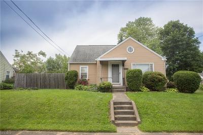 Massillon Single Family Home For Sale: 953 9th Street