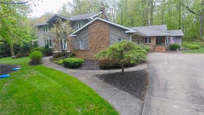 Chagrin Falls Single Family Home For Sale: 822 Sun Ridge Lane