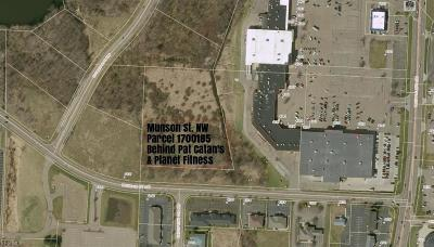 Canton Residential Lots & Land For Sale: Munson St Northwest
