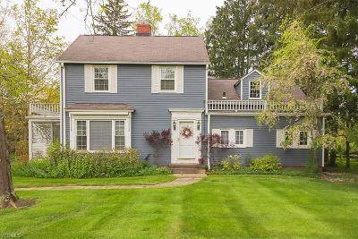 Brecksville Single Family Home Contingent: 8666 Wiese Rd