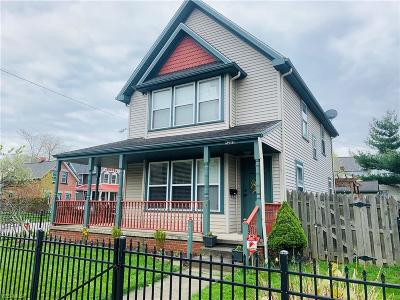 Cleveland Single Family Home Active Under Contract: 5203 Bridge Avenue