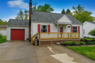 Canton Single Family Home For Sale: 4555 13th St Northwest