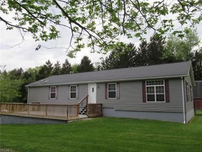 Wellsville Single Family Home Active Under Contract: 1052 Township Line Road