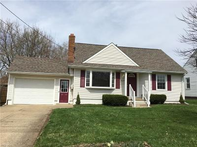 Canton Single Family Home For Sale: 4829 15th St Southwest